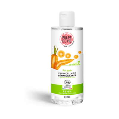 Organic Micellar Water Cleanser, Makeup Remover