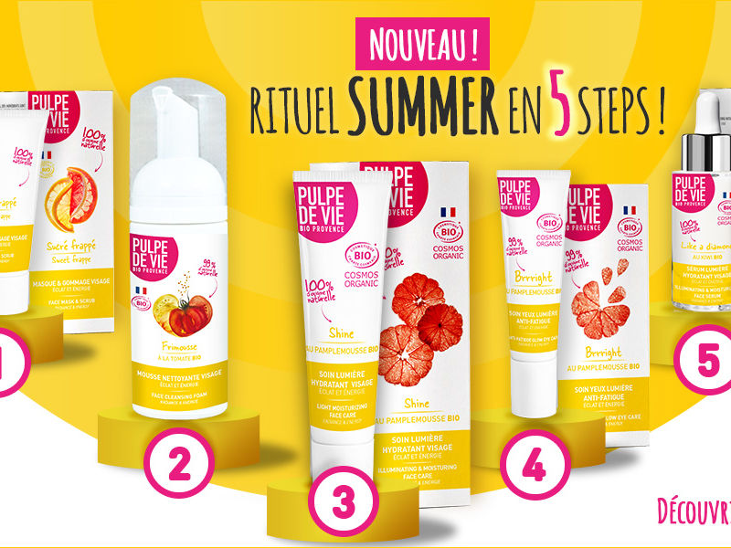 Quels cosmétiques pour cet été ? Découvrez notre rituel SUMMER !