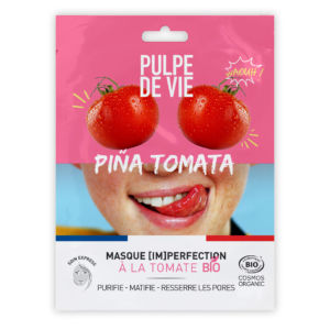 Masque anti-imperfection bio - Piña Tomata