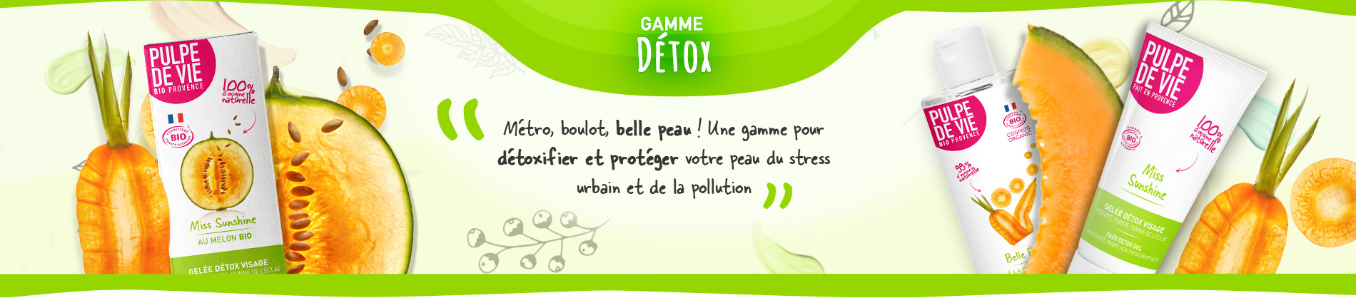 Gamme Détox