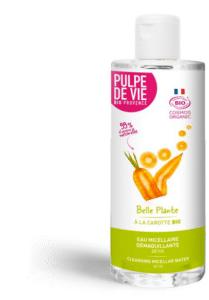 Belle Plante, Eau micellaire démaquillante à la carotte bio