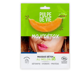 Moji'Detox, masque détox au melon bio