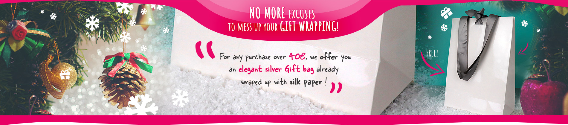 No more excuses to mess up your gift wrapping!