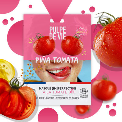 Masque anti-imperfections & boutons Piña Tomata