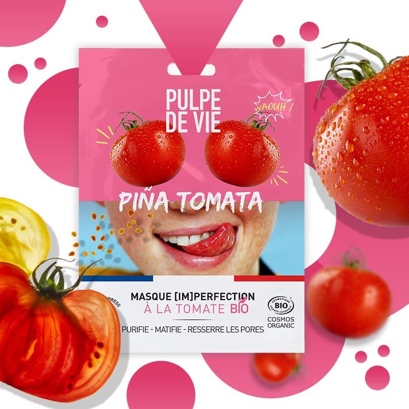 Masque anti-imperfections & boutons Piña Tomata