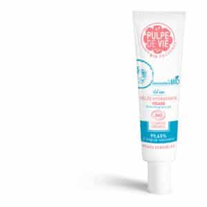 Gel hydratant visage bio pour peau sensible