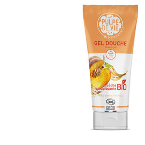 Gel Douche Bio Sans Substances Toxiques | Peach Please, Pulpe de Vie