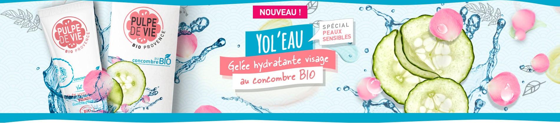 Yol'Eau, Gel hydratant bio pour le visage