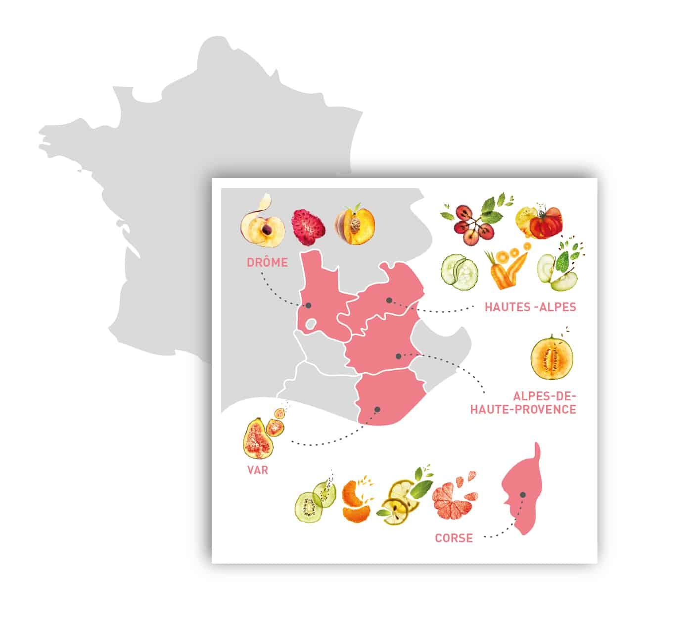 cosmétiques bio fabriqués dans le sud de la France